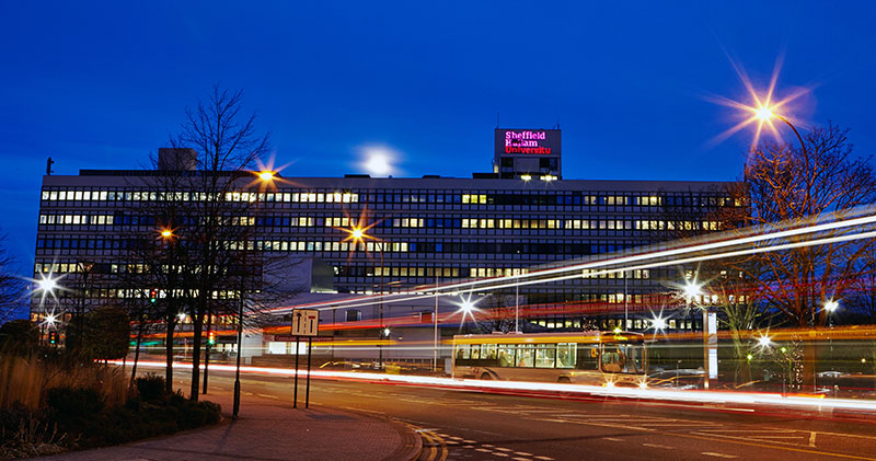 A view of Sheffield Hallam University, hosts of the 15th Global Brand Conference 2022