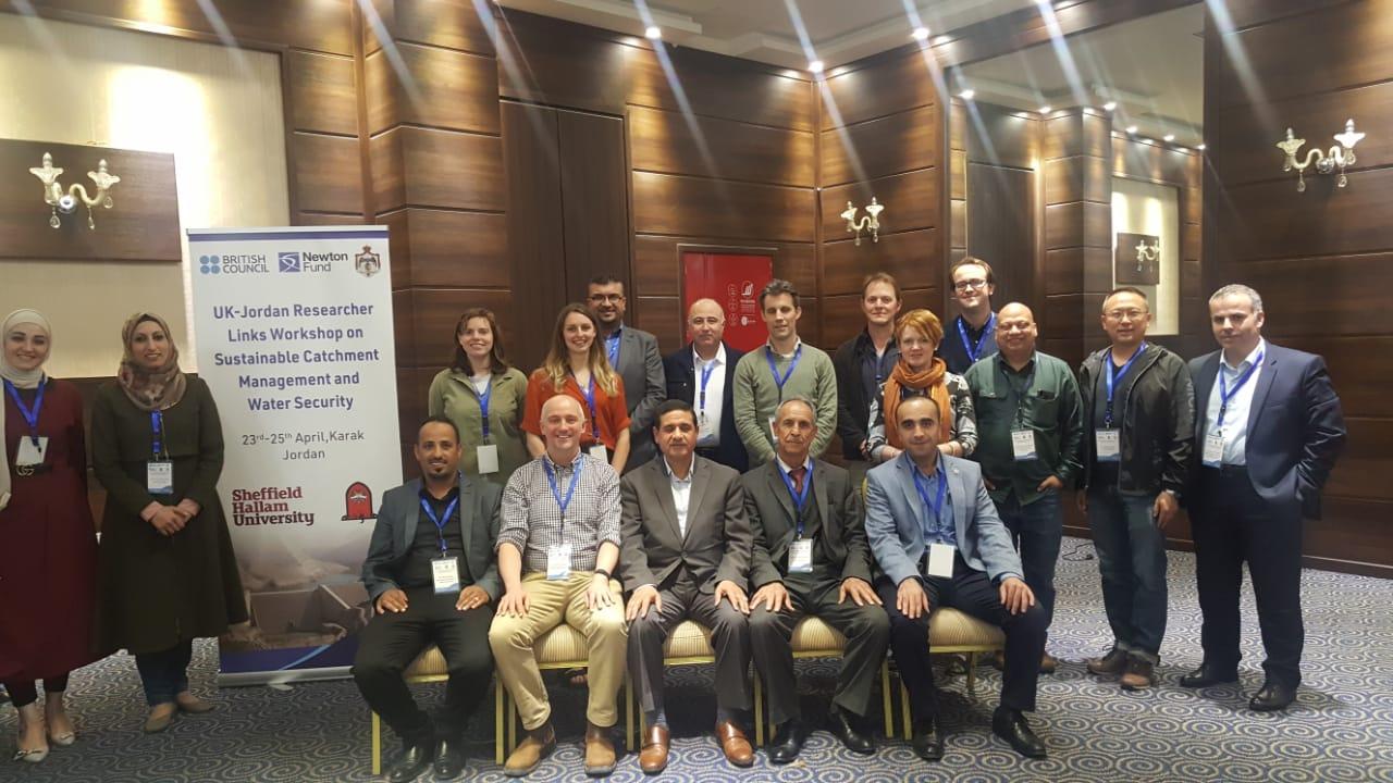 Researcher Links Jordan 2019 | SHU Blog Template