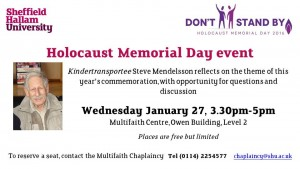 Holocaust Memorial Day image
