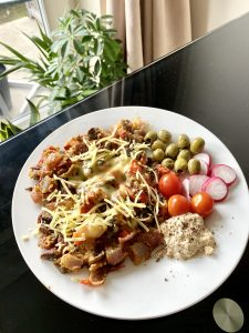 vegan omlette