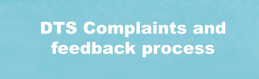 Complaints and feedback button