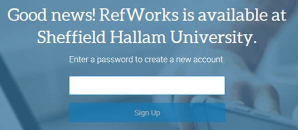 Referencing made easier with ProQuest RefWorks