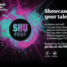 Get involved with SHU Fest 2018