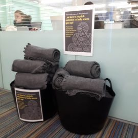 Library blankets