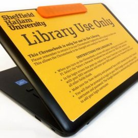 Chromebooks in the library at SHU – tell us what you think.