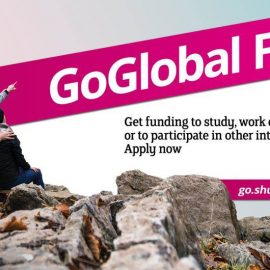 Apply for the GoGlobal Fund and explore the world!