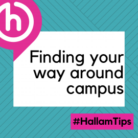 Finding your way around campus