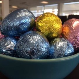 Happy Easter from the Library!