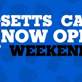 Adsetts cafe is now open on weekends!