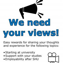 We need YOUR views!