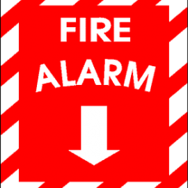 Upgrading the fire alarm system at Collegiate Library