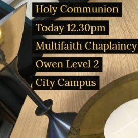 Holy Communion Today (Monday)