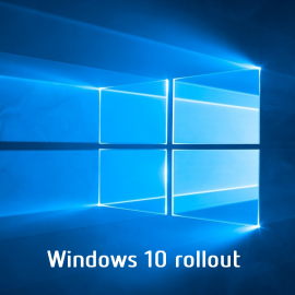 Windows 10 rollout!