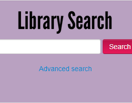 New Library Search interface