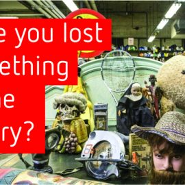 Have you lost something in the library?
