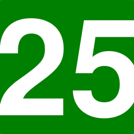 25 – is the new increased amount of books you can borrow!