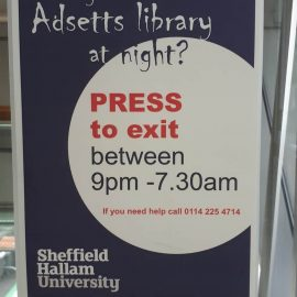 You say… accessing Adsetts at night