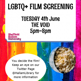 LGBTQ+ Film Screening and Discussion