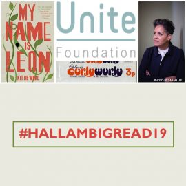 #HallamBigRead19 – Exciting Event News! Kit de Waal and Eluned Parrott visits