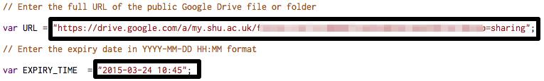 google drive folder access