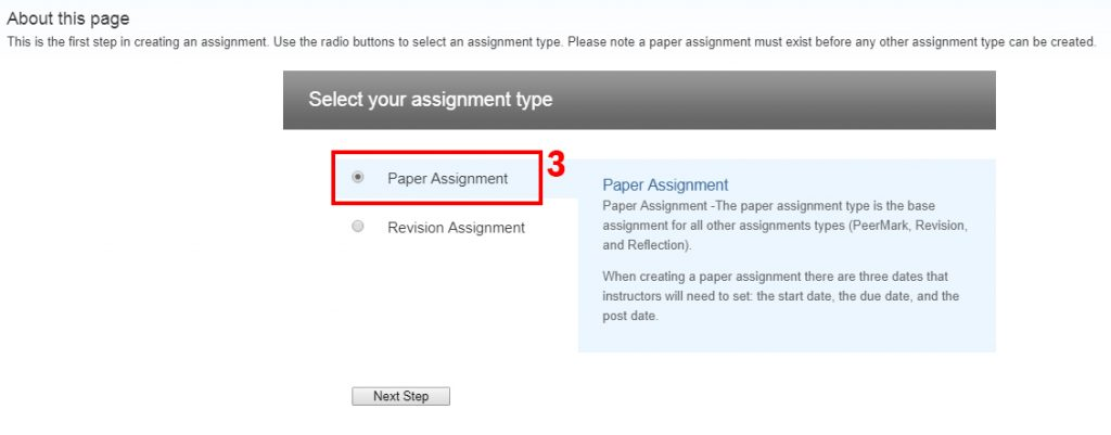 Paper Assignment in Turnitin