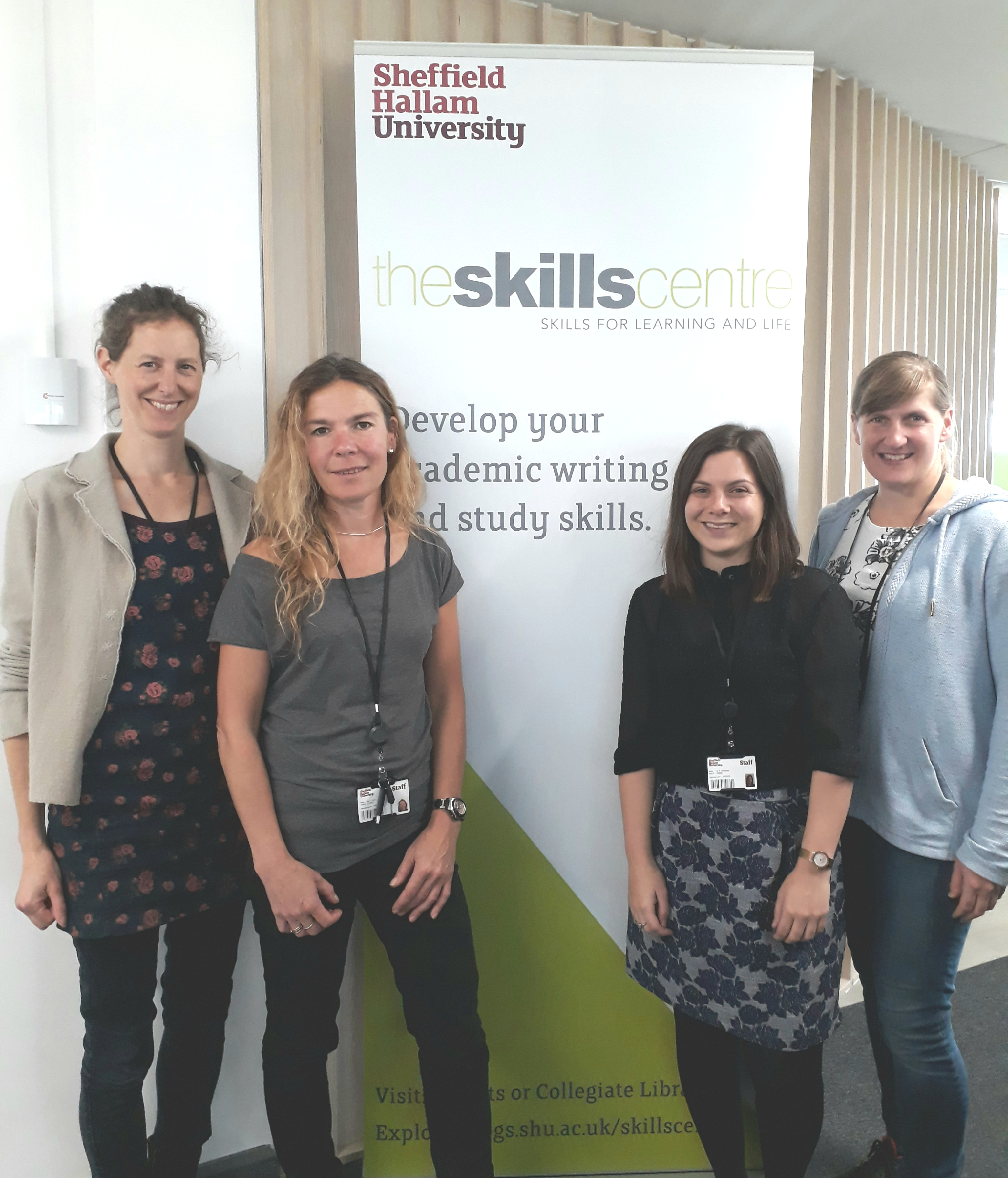 Hello and welcome to the Skills Centre at Sheffield Hallam University!