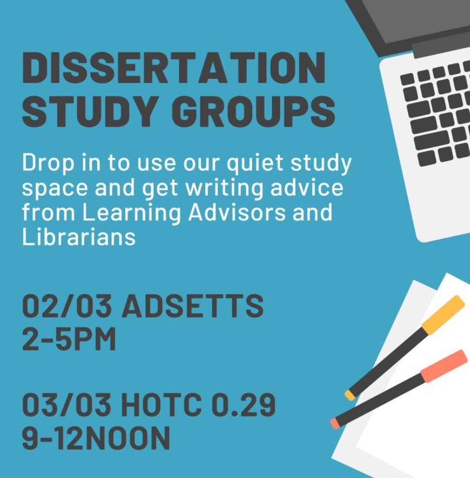 Are you working on your dissertation, extended project or literature review?