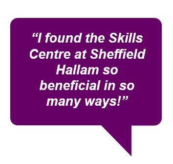 Ready to maximise your marks? If so, visit the Skills Centre!