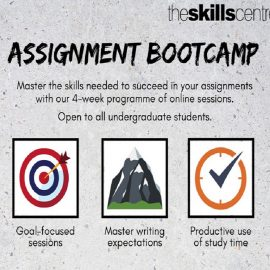 Attention! Pens at the ready! The Assignment Bootcamp launches February 2021