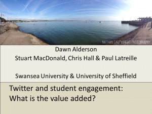 Dawn Alderson Twitter & Value Added