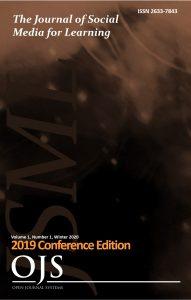 Journal of Social Media for Learning cover