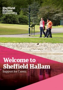 Carer Welcome Booklet cover