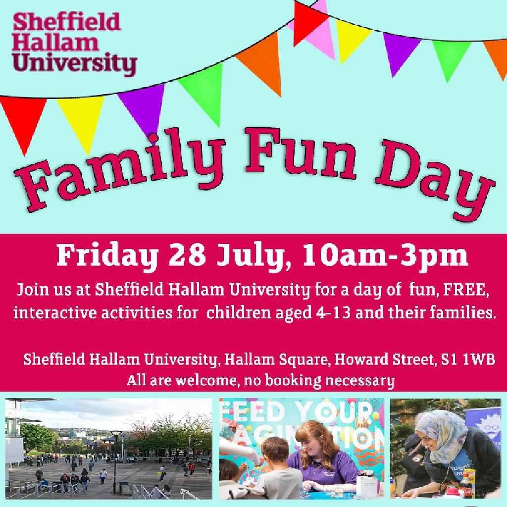 Family Fun Day: Friday, 28 July