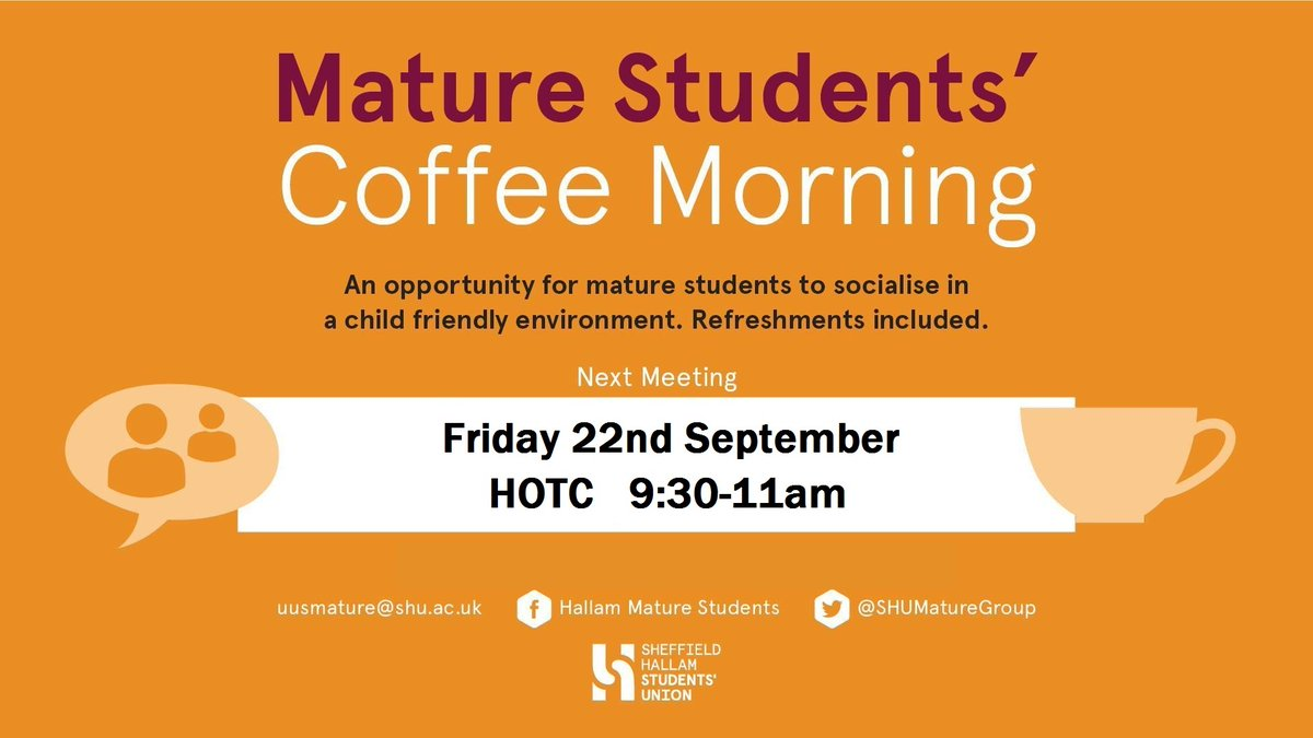 Mature Student Coffee Morning