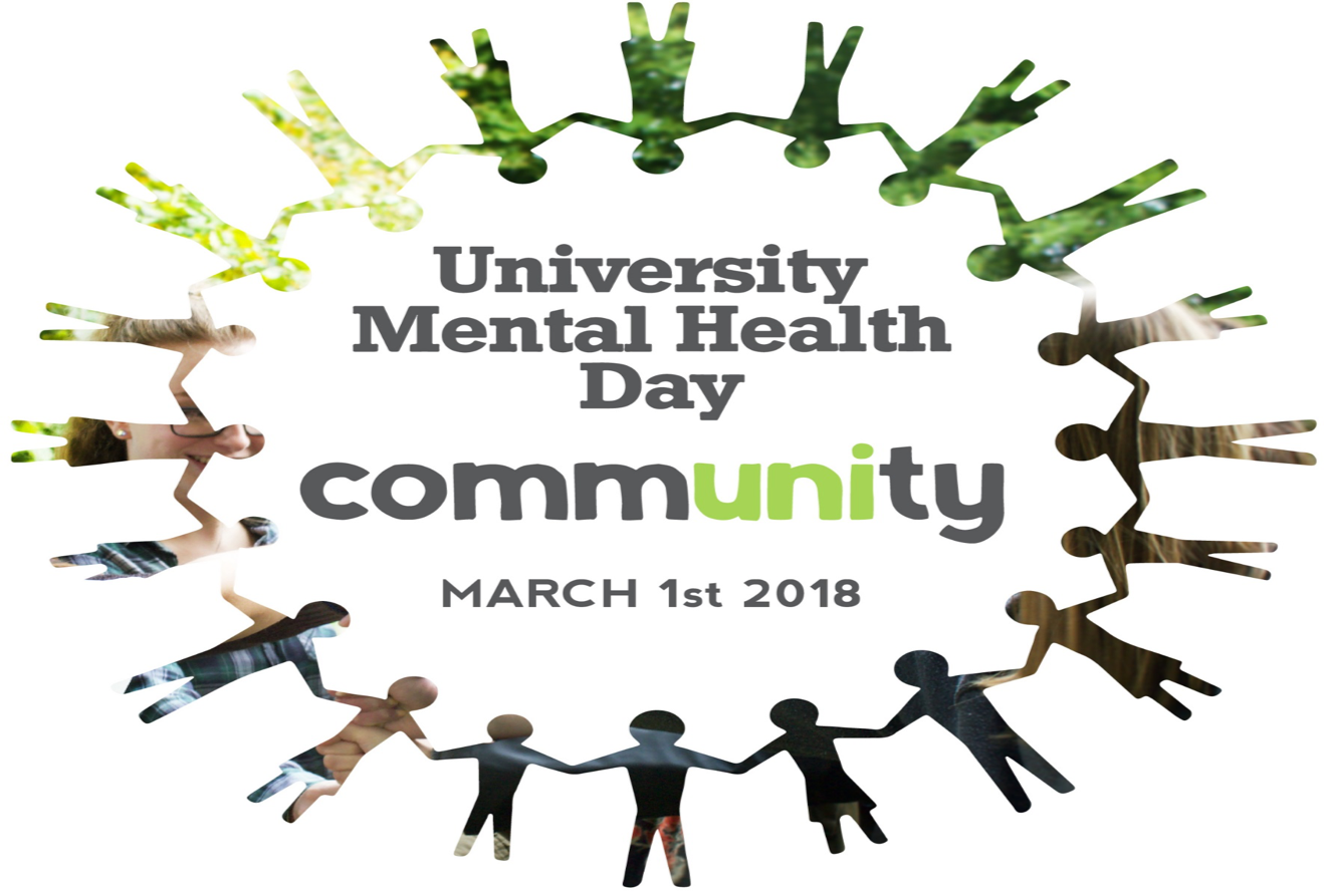 University Mental Health Day  – Thursday 1st March