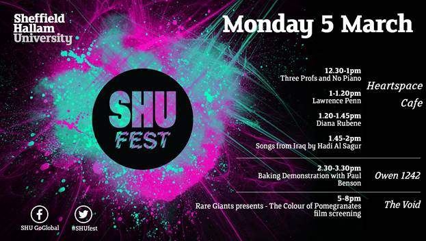 SHU Fest 18 – March 5th