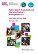 Talent match Briefing Report 2015