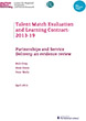 TM Evidence Review Partnerships and Service Delivery