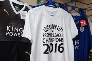 Leicester City shirts for sale