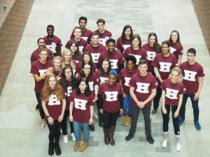Our Hallam Fund student ambassadors.
